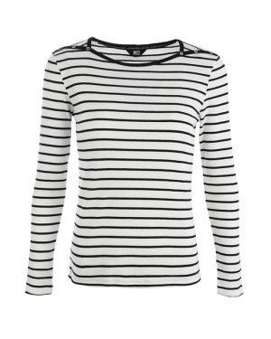 RW shirt Jill offwhite-navy