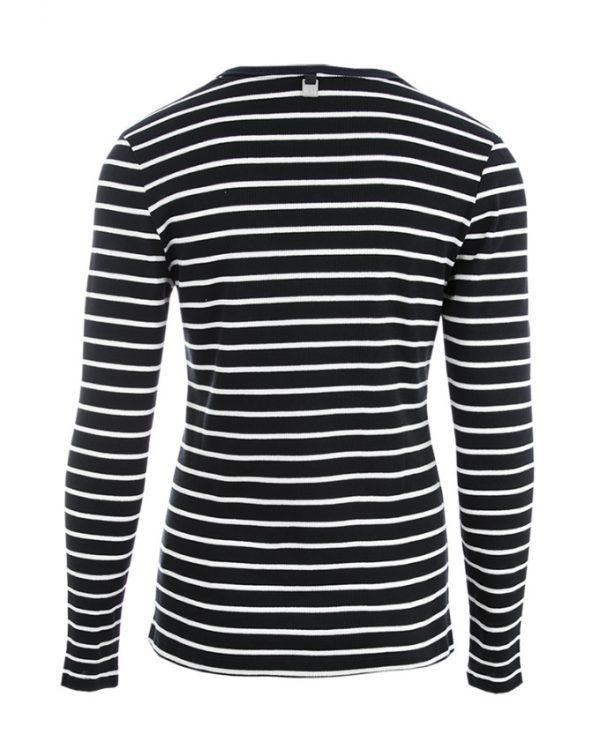 RW shirt Jill navy-offwhite