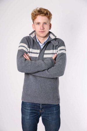 dex pullover grey