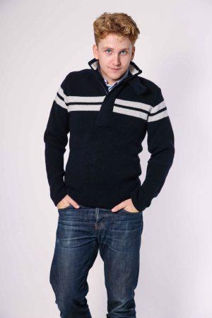 dex pullover navy