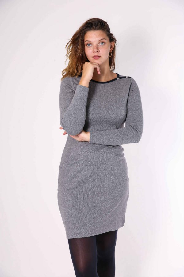 gaby dress grey