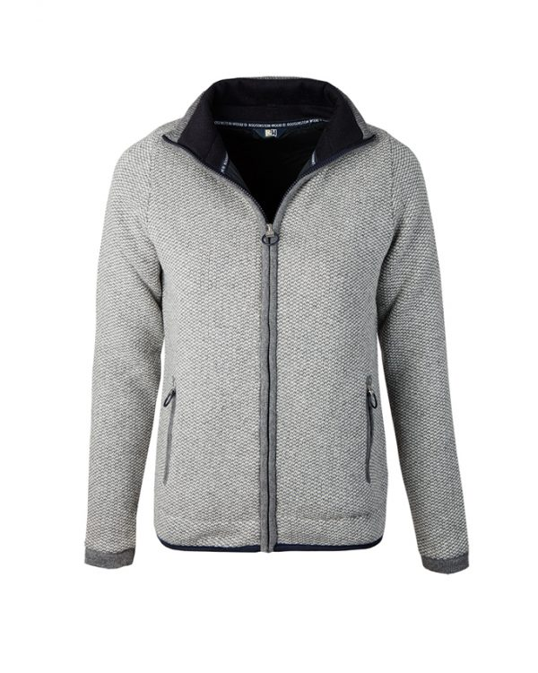 RW cardigan Maya grey pebble