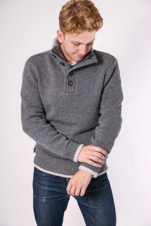nate pullover grey