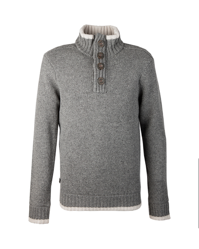 RW windstopper trui Nate grey