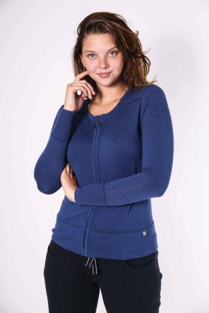 romy cardigan french navy