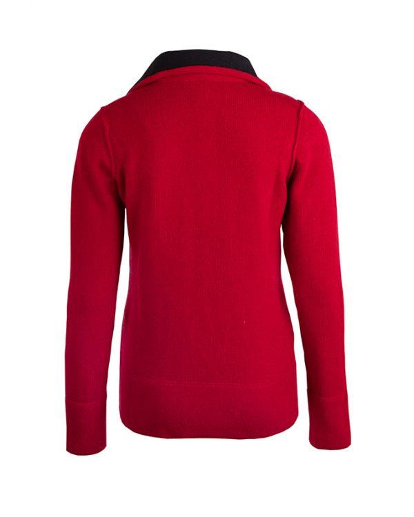 RW pullover Sam burgundy