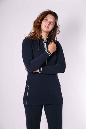 suzy sweater navy