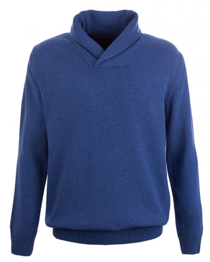 rw pullover cap midblue