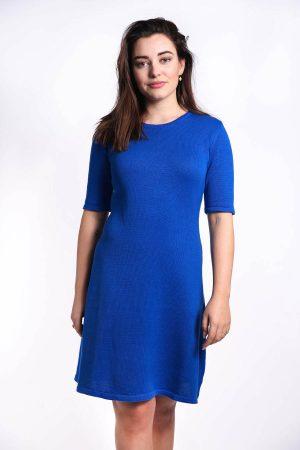 maren jurk kobalt