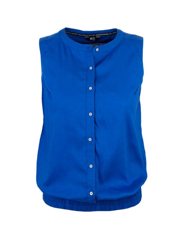 Mona blouse blauw