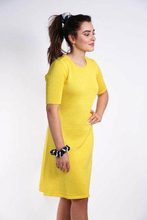 maren jurk geel