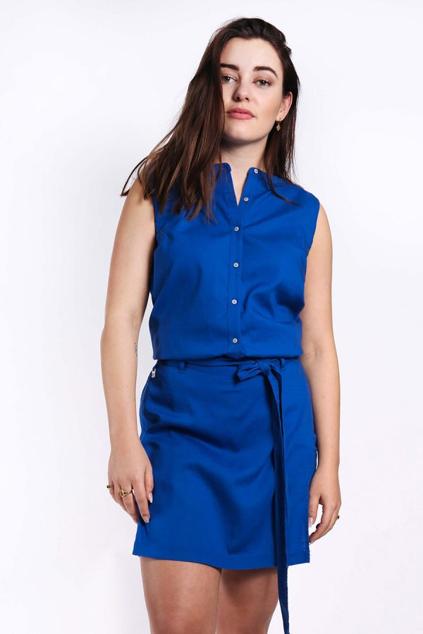 Mona top blue