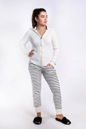 Mila streep broek