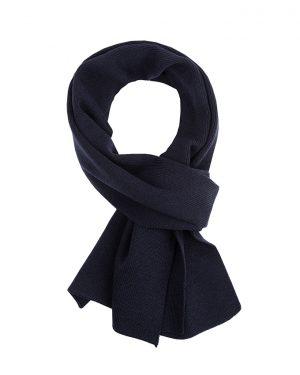 Sjaal 100% merino navy