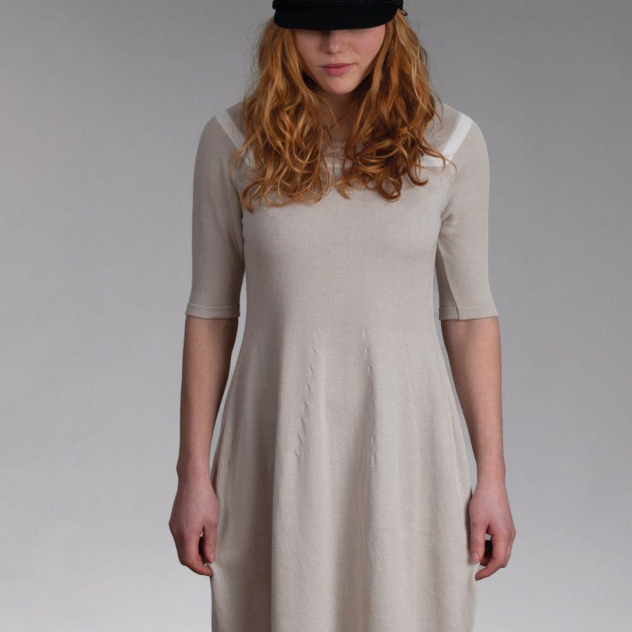 Feddau jurk beige offwhite