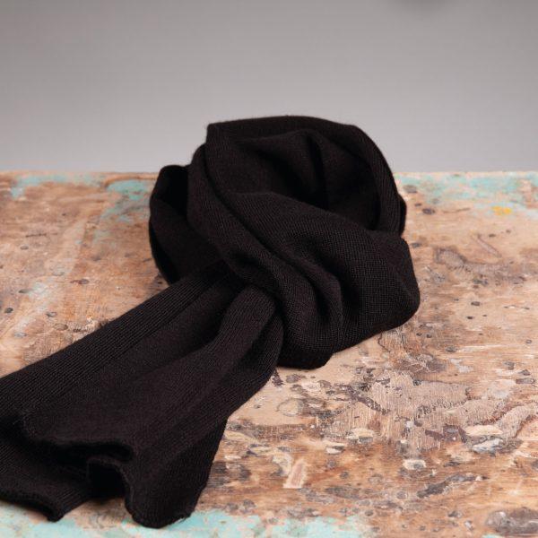 Falco sjaal 100% wol black