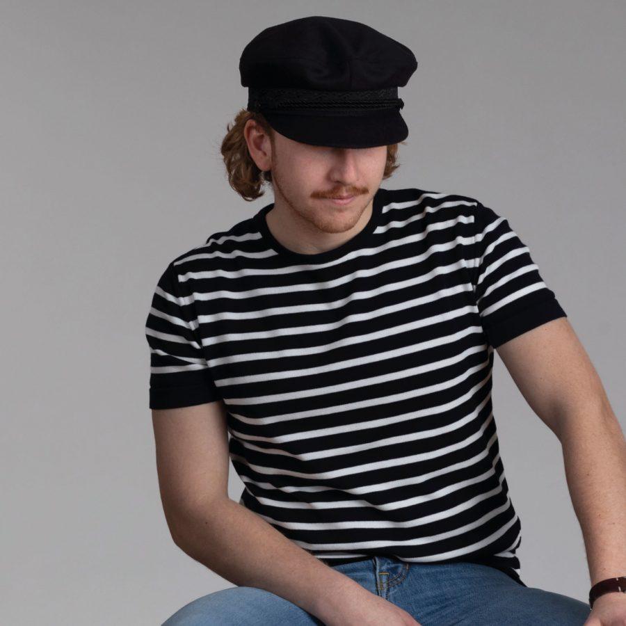 Ties T-shirt navy/offwhite