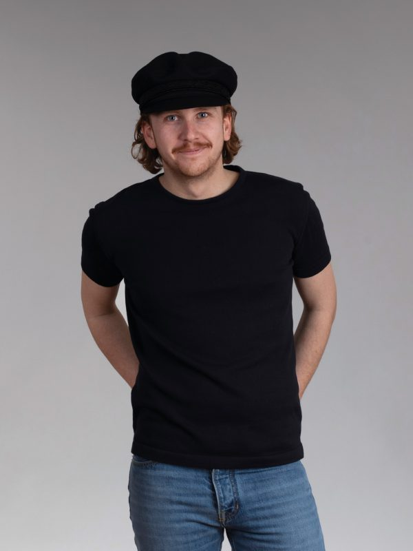 Ties T-shirt navy
